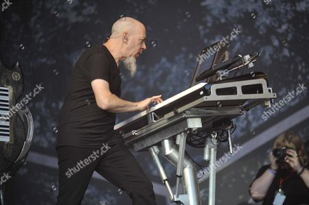 London United Kingdom - July 24: Jordan Rudess Of Dream Theater Performing Live Onstage At High Voltage Festival On July 24 2011 In London