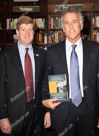 Editorial photo of Christopher Lawford 'Recover to Live' book signing, New York, America - 07 Jan 2013