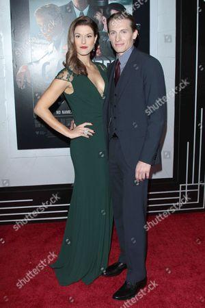 Stock Image of James Hebert and Abigail Carpenter