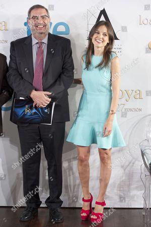 Enrique Gonzalez Macho and Elena Anaya