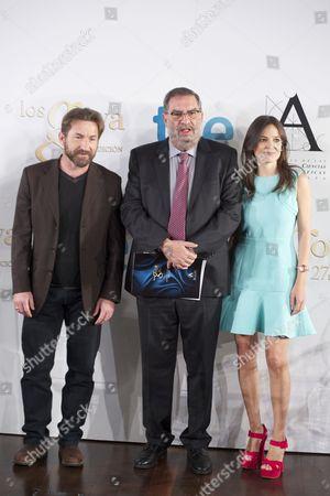 Antonio de la Torre, Enrique Gonzalez Macho and Elena Anaya