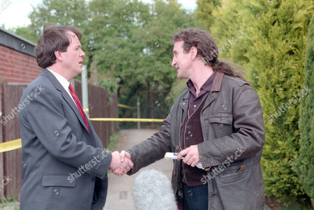 Kevin Whately as DS Lewis and Mark McGann as Geoffrey Owens