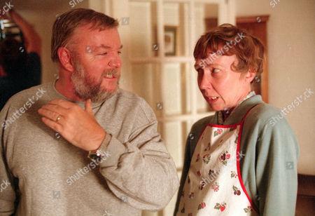 Tony Haygarth as Ted Brooks and Gabrielle Lloyd as Brenda Brooks