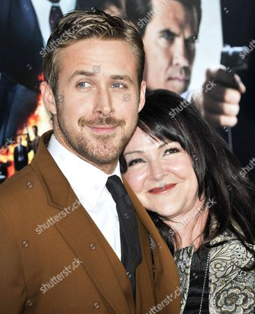 Stock Picture of Ryan Gosling and Donna Gosling
