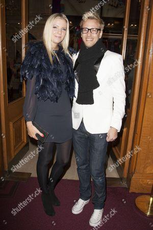 Rick Parfitt Jnr and Rachel Gretton
