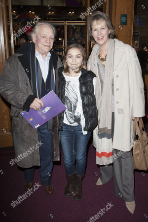 David Jason, Sophie Mae White and Gill Hinchcliffe