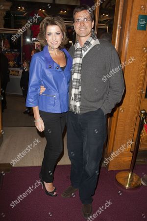Natasha Kaplinsky and Justin Bower
