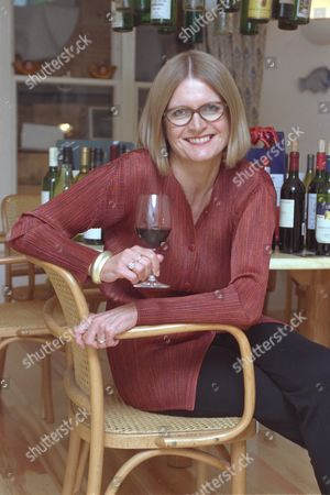Wine Writer Jancis Robinson Pictured At Her Hampstead London Home Today. Janice Robinson.