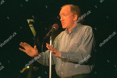Stock Photo of Nicol Williamson Performing His One Man Show Nicol Williamson Died 16/12/2011.