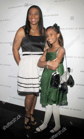 Quvenzhane Wallis and mother Qulyndreia Wallis