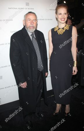 Tony Mendez and Jessica Chastain