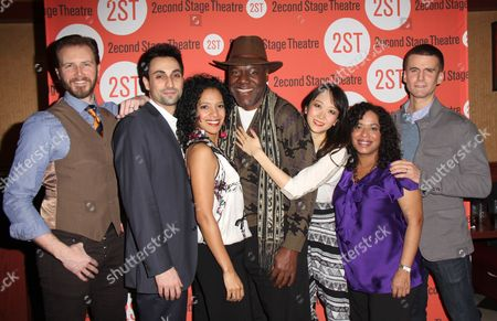 Stock Image of Bill Heck, Ryan Shams, Zabryna Guevara, Frankie R Faison, Sue Jean Kim, Lisa Colon-Zayas, Armando Riesco