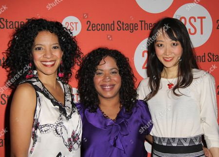 Stock Photo of Zabryna Guevara, Lisa Colon-Zayas and Sue Jean Kim
