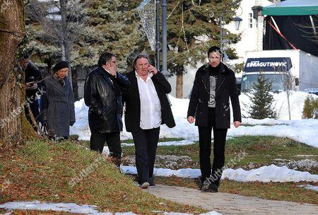 Editorial picture of Gerard Depardieu in Montenegro - 08 Jan 2013