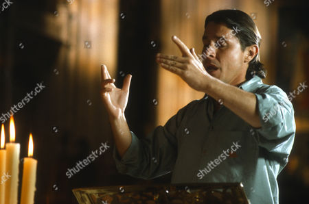 Stock Photo of Barrington Pheloung as Choir Master (uncredited). He is the composer of the original Morse music