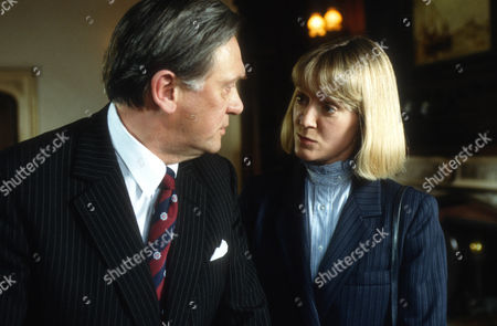 Stock Picture of Richard Pasco as William Bryce Morgan and Joanna David as Susan Fallon