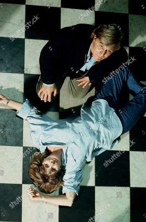 Jan Harvey as Friday Rees and Martin Jarvis as Randall Rees
