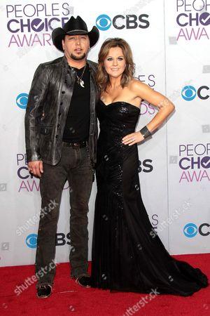 Jason Aldean and Jessica Aldean