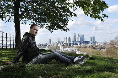 London United Kingdom - April 8: Portrait Of Designer And Illustrator Craig Ward