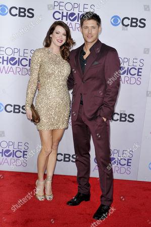 Danneel Harris and Jensen Ackles