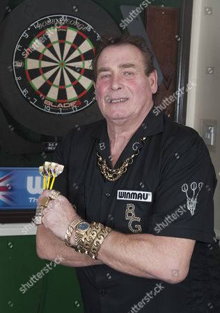 Editorial photo of Bobby George and son Richie George at home near Colchester, Essex, Britain - 03 Jan 2013