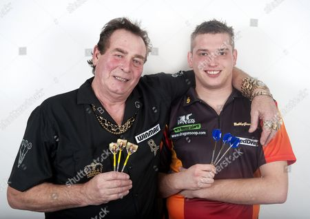 Editorial picture of Bobby George and son Richie George at home near Colchester, Essex, Britain - 03 Jan 2013