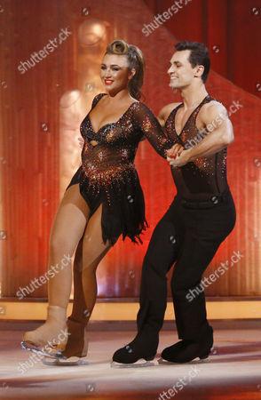 Lauren Goodger and Michael Zenezini