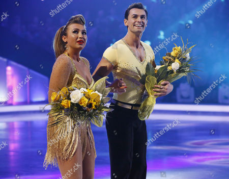 Skate off - Lauren Goodger and Michael Zenezini are voted off by the judges