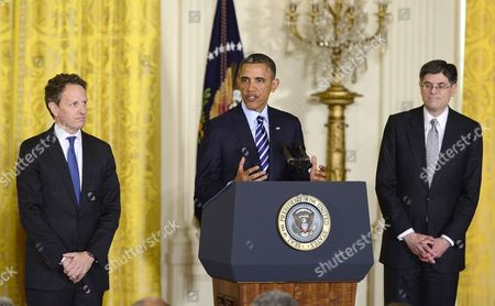 Editorial image of President Barack Obama names new Treasury Secretary, Washington, D.C., America - 10 Jan 2013