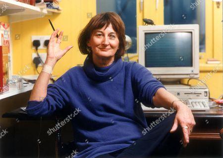 Victoria Glendinning Writer At Her Kentish Town London Home. (1995).