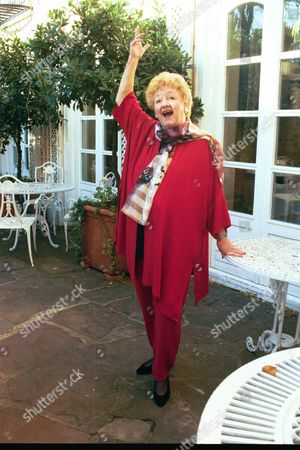 Actress Joan Sims In London Today Who Will Feature In A Coming Tv Documentary On The Film Series.
