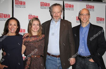 Stock Image of Laurie Metcalf, Zoe Perry, Daniel Stern, John Schiappa