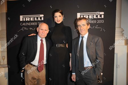 Steve McCurry, Hanaa Ben Abdesslem and Alain Prost