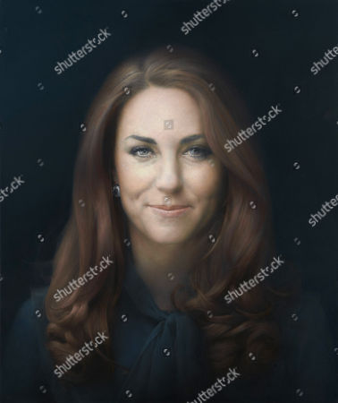 Portrait of Catherine Duchess of Cambridge by Paul Emsley