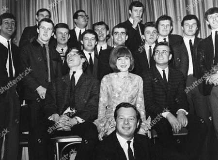 Brian Epstein with Cilla Black, Billy J Kramer and The Dakotas, The Fourmost and Gerry and the Pacemakers
