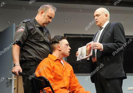 David Schaal as Herb, Ryan Gage as Lee Fenton and Peter Tate as John Daniels