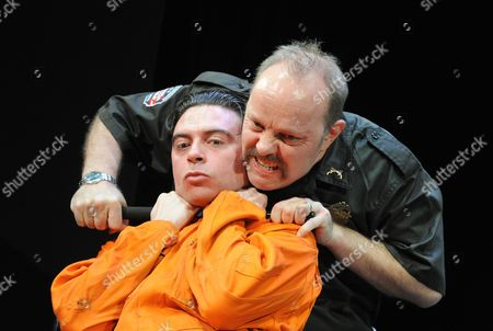 Ryan Gage as Lee Fenton and David Schaal as Herb