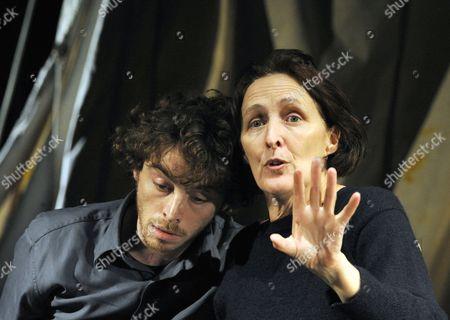 Fiona Shaw and Daniel Hay-Gordon