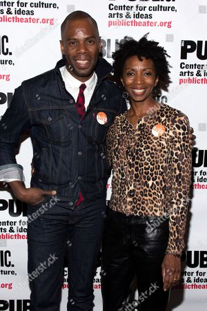 Colman Domingo, Sharon Washington