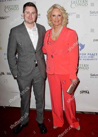 Cindy Hensley McCain and son Jimmy McCain