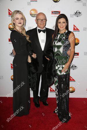 Kate Ledger, Kim Ledger and Ines Ledger