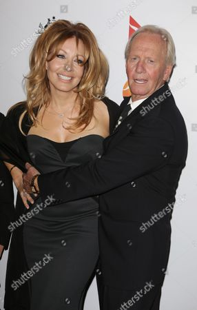 Stock Image of Paul Hogan and wife Linda Kozlowski