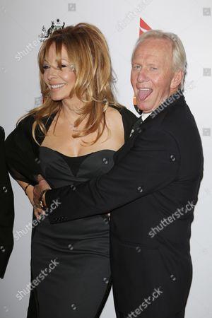 Stock Photo of Paul Hogan and wife Linda Kozlowski