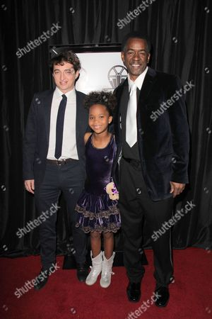 Guest, Quvenzhane Wallis and Dwight Henry