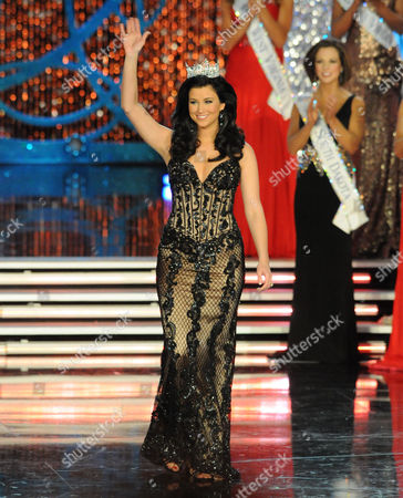Editorial image of Miss America competition, Planet Hollywood Resort & Casino, Las Vegas, America - 12 Jan 2013