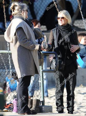 Myfanwy Edwards and Naomi Watts