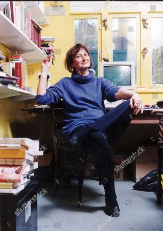 Writer Victoria Glendinning In Her Kentish Town Home.