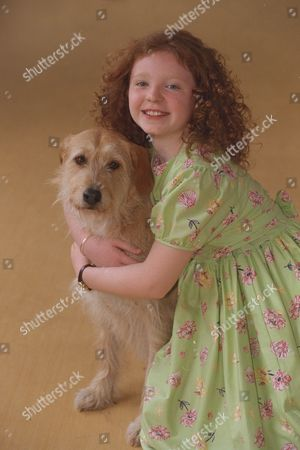 Editorial photo of 10yr Old Charlene Barton And Dog 'cassie' Chosen To Star In The West End Revival Of Musical 'annie' To Open At The Victoria Palace In September. She Was Picked From The Final 19 Girls At The Auditions By Director Martin Charnin.