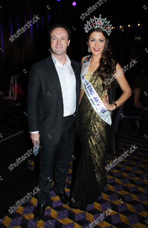 Charlotte Holmes (Miss England 2012) and Simon Thomas