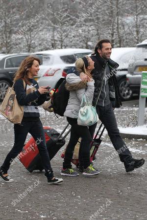 Stock Photo of Samia Ghadie, Jenna Smith and Sylvain Longchambon